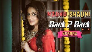 Madhu Shalini Romantic Scenes Latest Movie Back To Back Scenes Madhu Shalini