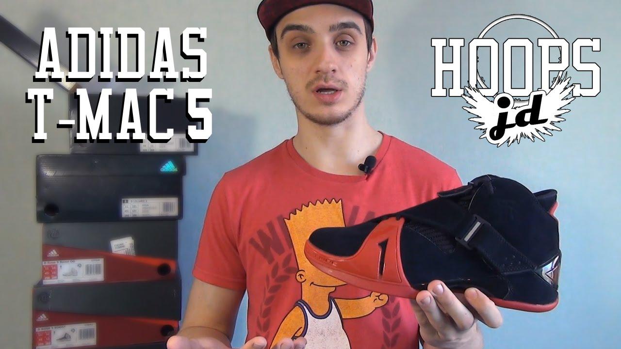 adidas T-Mac 5 - YouTube 76847a52c