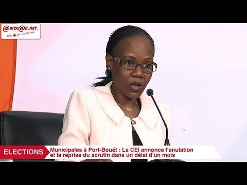 Municipales à Port Bouët : La CEI annonce l'anulation et la reprise du scrutin