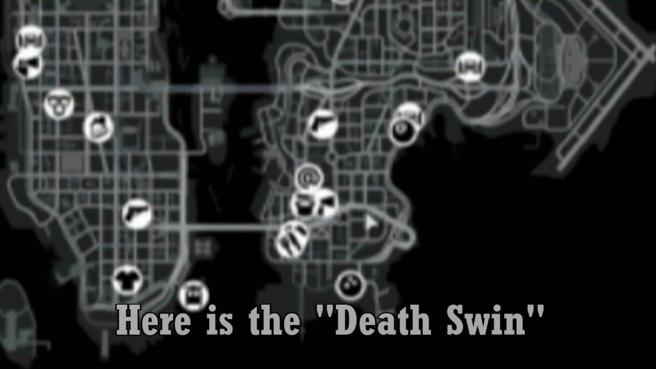 Gta 4 Karte.Gta 4 Death Swing Location Todes Schaukel Position