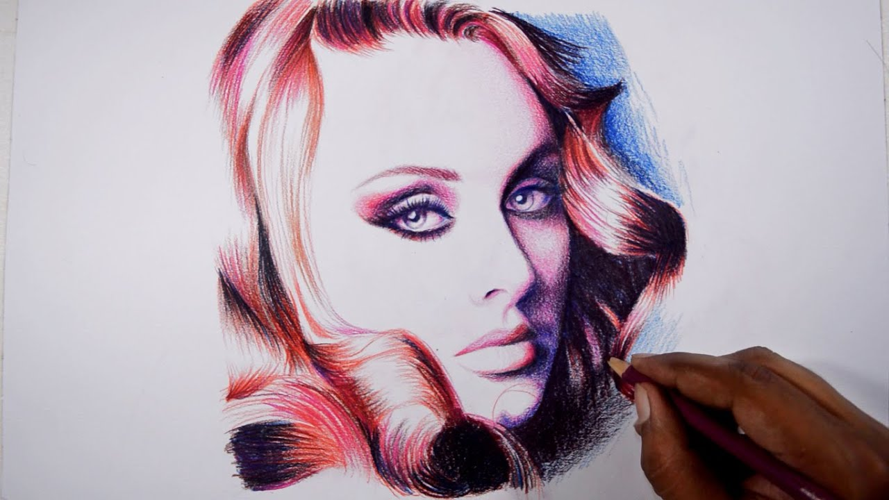 Drawing adele faber castell polychromos pencils