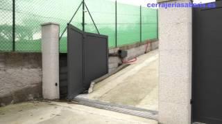 Puerta Corredera Curva Aluminio