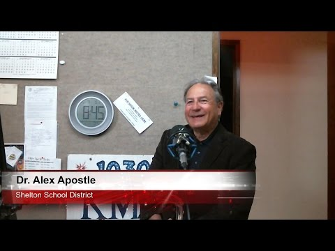 Dr. Alex Apostle - Shelton School Superintendent