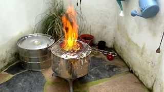 Barbacoa/Horno - ¡Bautismo de fuego!
