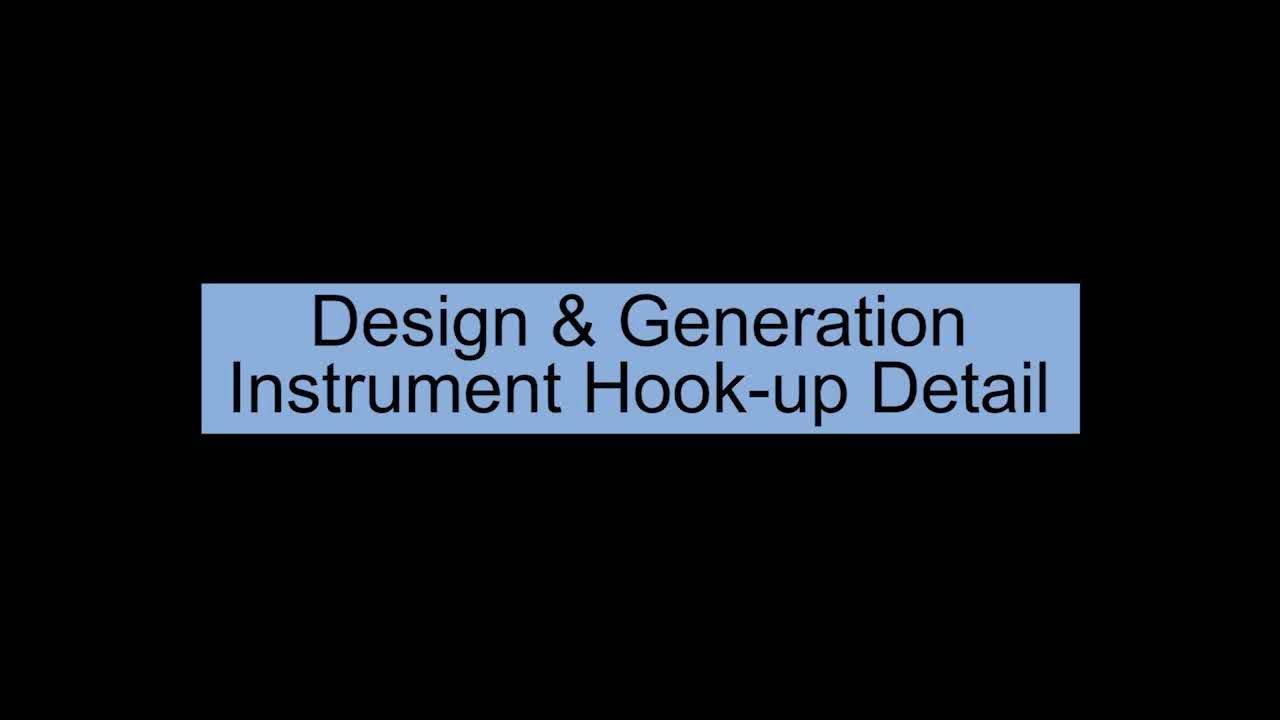 Hook up instrument