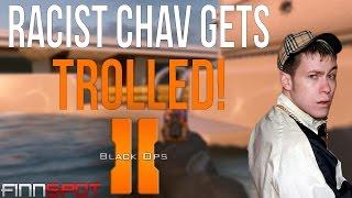 Racist Chav Gets Trolled - Black Ops II