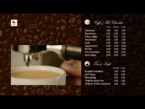 Digital Menu for Restaurants Montreal Toronto Quebec