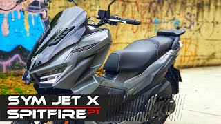 ★🔥🔴 SYM JET X 125cc scooter 2021 ★ Review & TestRide ★🔥🔴 - ENGLISH 💯✅