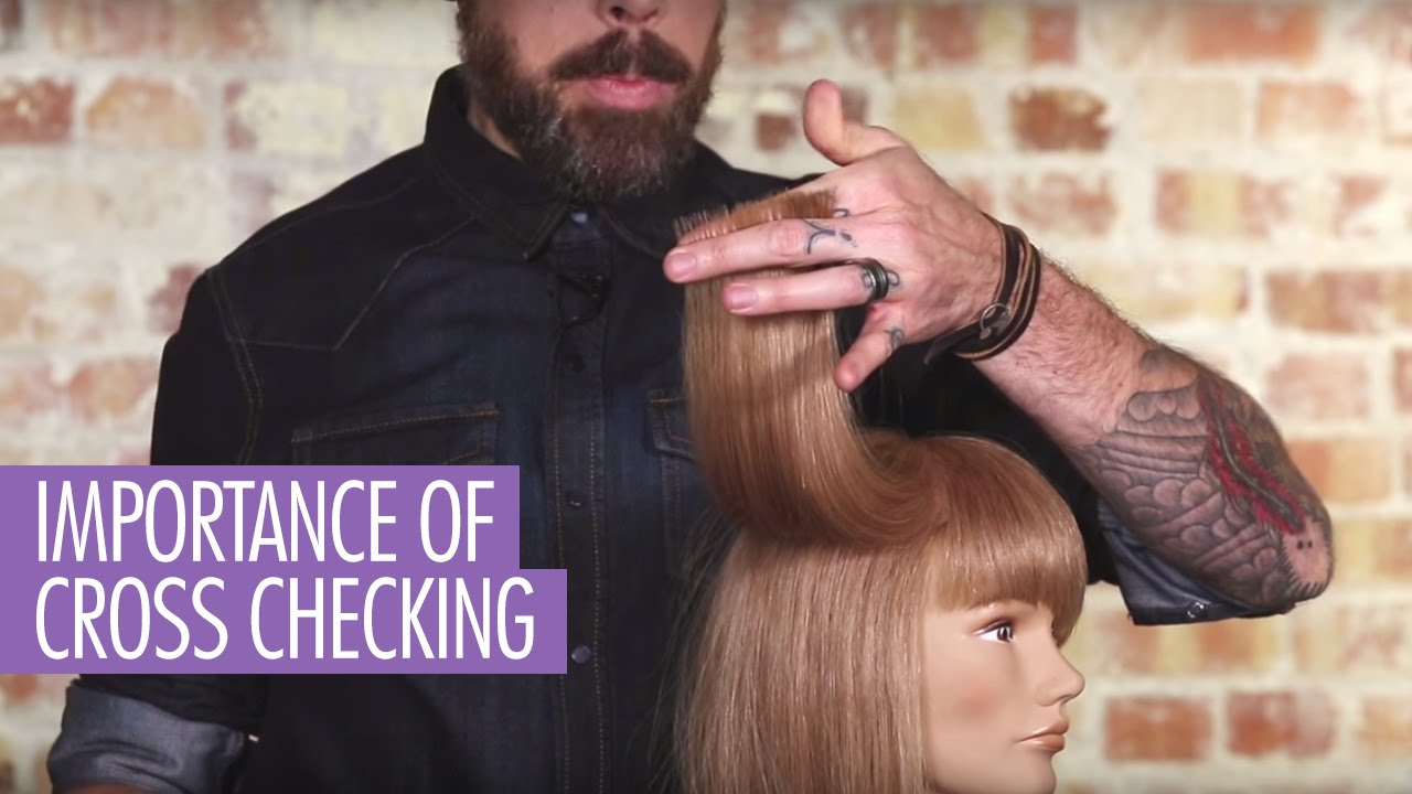 Importance Of Cross Checking Hair Youtube