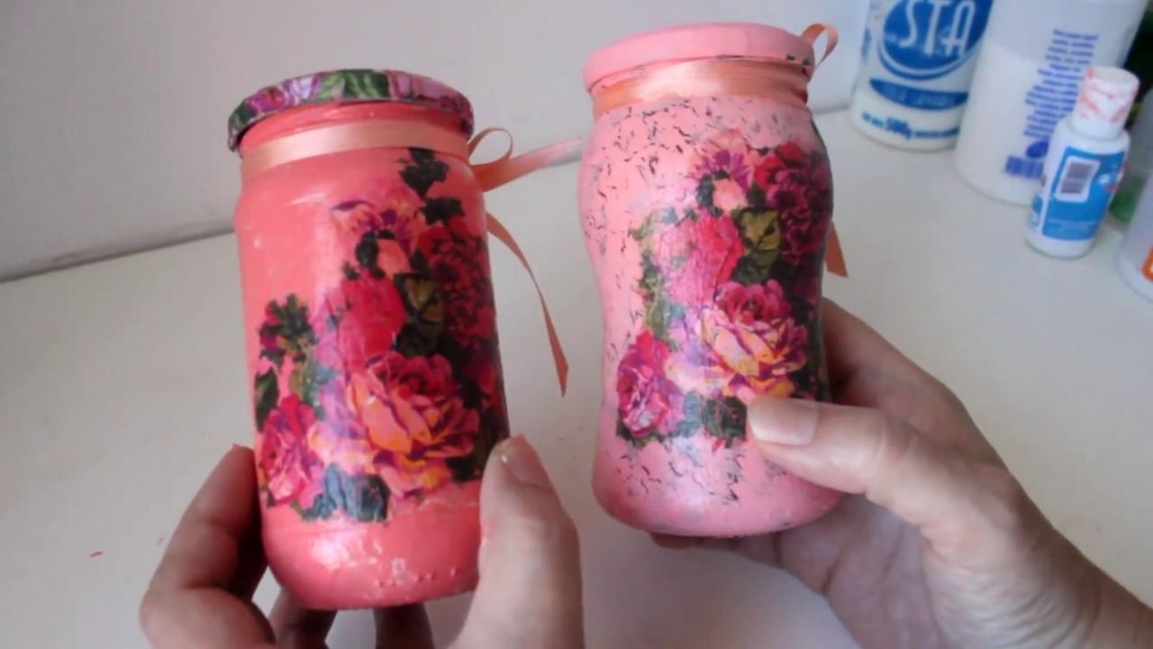 Como Decorar Botellas Con Craquelado