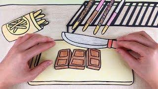 빼빼로 만들기 스톱모션!! 셀프키친#2 [Stop Motion making #Dessert] :: 셀프어쿠스틱