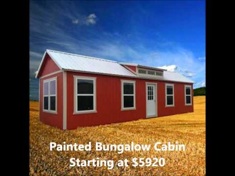 Derksen Portable Buildings 12x32 Lofted Barn Located At