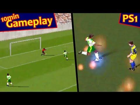 Super Shot Soccer ... (PS1) 60fps