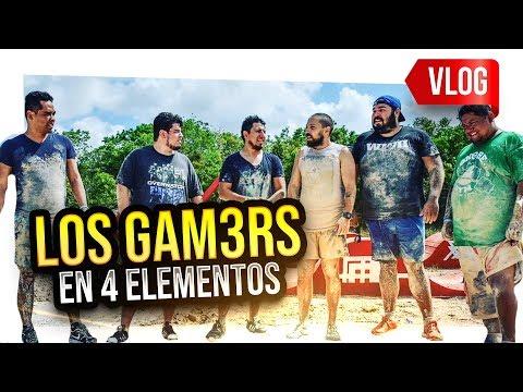 LOS GAMERS EN 4 ELEMENTOS | Fedelobo, Alka, TumTum, Bean3r y más...