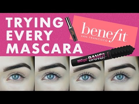 NEW Benefit Bad Gal Bang Mascara | Review + Try On