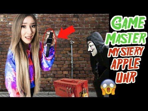 mystery APPLE Watch in GAME MASTER abgeschlossene BOX GEFUNDEN...