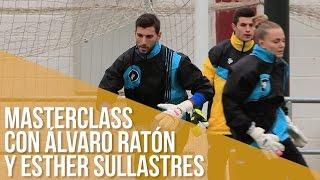Entrenamiento con Álvaro Ratón y Esther Sullastres
