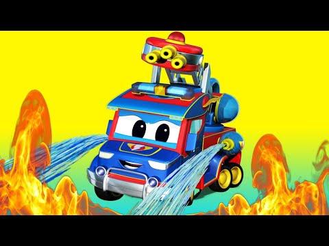Truck Zeichentrick für Kinder - Super FEUERWEHR TRUCK eilt zur RETTUNG - Super Truck Car City ! from YouTube · Duration:  19 minutes 59 seconds