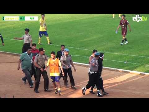 Highlight Cilegon United vs PSS Sleman (2-2) Babak 16 Besar Liga 2 Indonesia