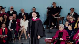 graduate speaker pete davis harvard commencement 2018