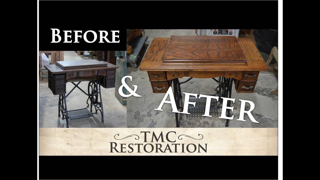 Restoring A Sewing Machine Tmc Restoration Youtube