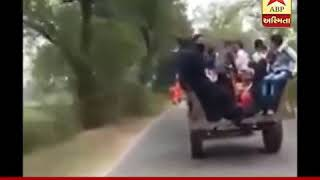 Accident of tractor