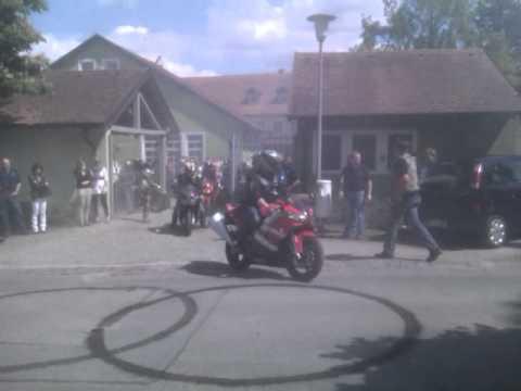 Bikerhochzeit von Achim und Gabi 24052014  Doovi