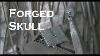 Forged Skull from ¾