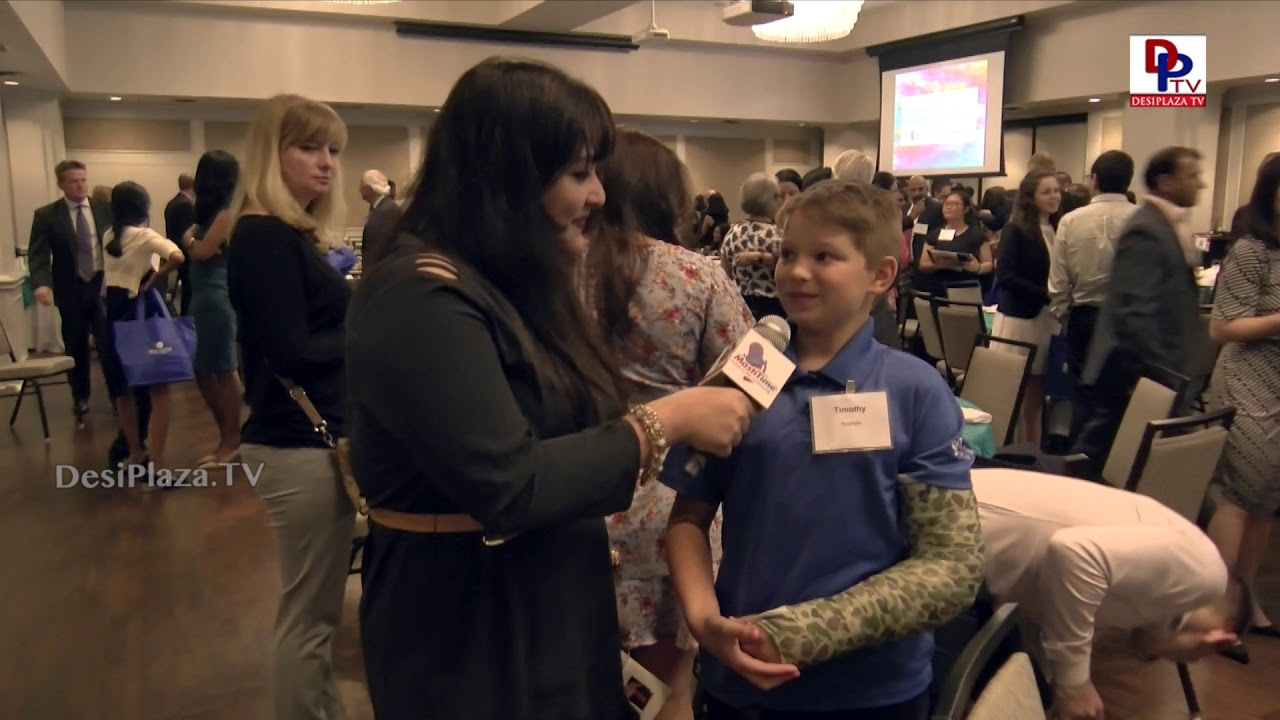 Small Kid feels great for attending Immigration Journey Awards Gala - #IJAwards2018 | DesiplazaTV