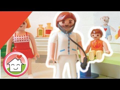 Playmobil Film Deutsch Anna Ist Krank Familie Hauser Kinder