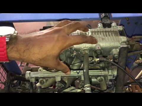 MPFI system in 4 stroke petrol engine : IC Engines lab experiments