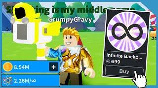 Buying the Infinite Bag! Making Millions! Dominus Shrinker! - Roblox Shrink Ray Simulator