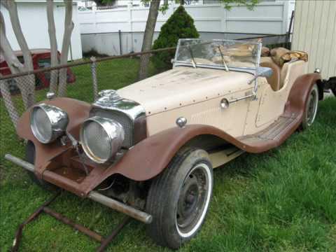Bringing Home The 1939 Jaguar SS 100 - YouTube