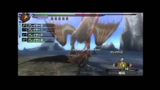 [TGS 2011] Monster Hunter Tri G  - Plesioth / Bracchidios (direct feed/Famitsu) thumbnail