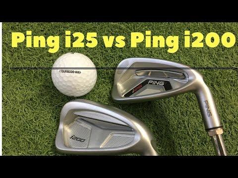 Ping i25 vs Ping i200