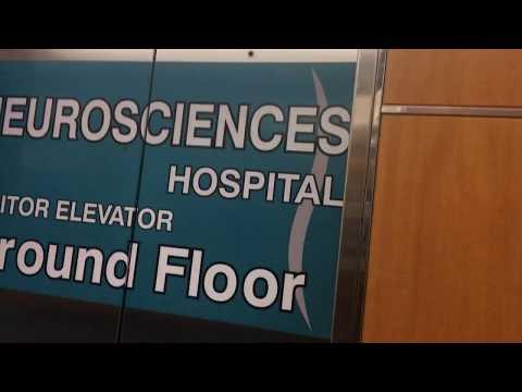 3 minute ride On The Dover Hydraullic Elevators At UNC Neuro Psyc Hospital, Chapel Hill NC