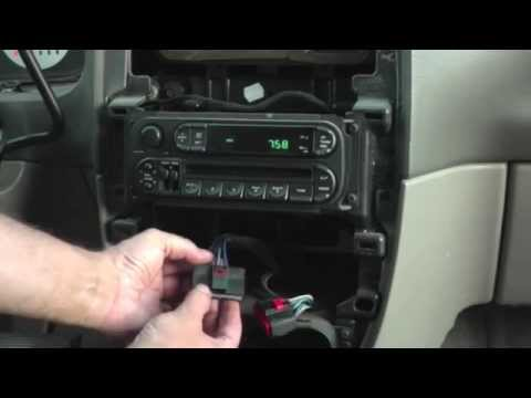 2004 Chrysler Town & Country LX center console light fix