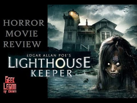 EDGAR ALLAN POE'S LIGHTHOUSE KEEPER ( 2016 Vernon Wells ) Horror Movie Review