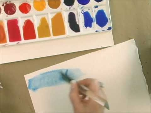 Watercolor Techniques With Acrylic Paint How To A Wash