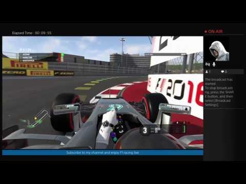 F1 2016 Russia Race