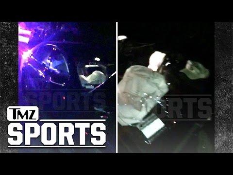Johnny Manziel- Mangled Wreckage Of Hollywood Crash   TMZ Sports