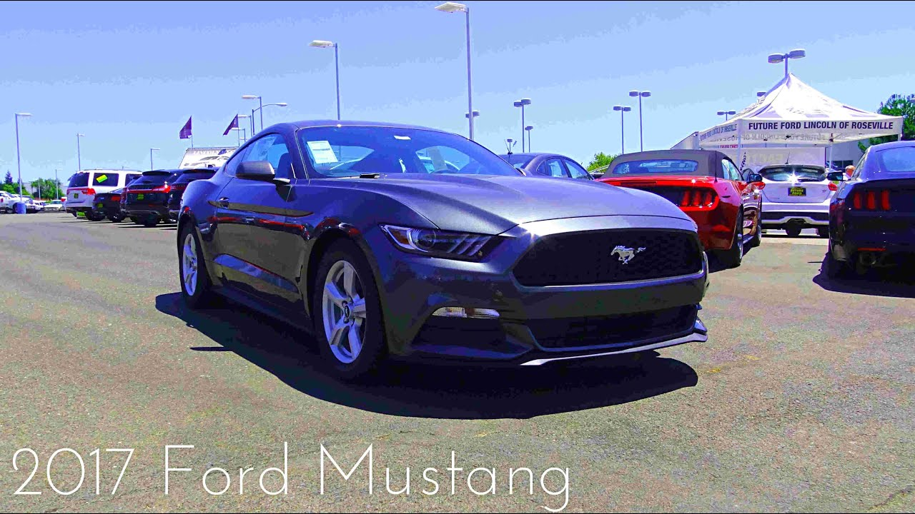 2017 ford mustang 3 7 l v6 review youtube. Black Bedroom Furniture Sets. Home Design Ideas