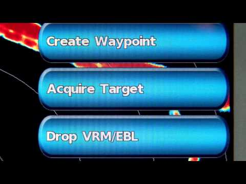 How to understand radar screens and user controls