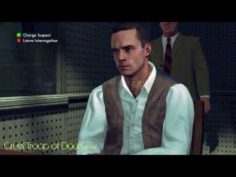 L.A. Noire: Perfect Interrogation - McCaffrey At Central Station [Secretary Murder Case]