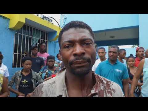 HAITIANO ATACA CON UN MACHETE A  DOMINICANO POR UNA MUJER EN LA GUAZUMA PERALVILLO