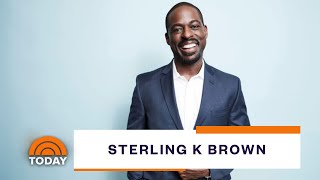 Sterling K. Brown Talks 'This Is Us' And Special Passion Project   TODAY