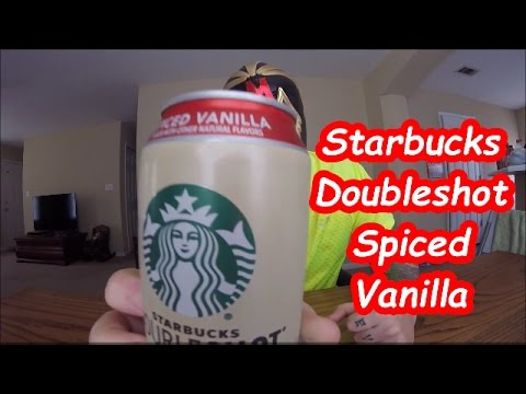 Starbucks Doubleshot Spiced Vanilla