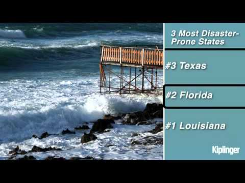 3 Most Disaster-Prone States