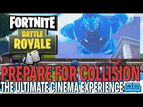 FORTNITE   PREPARE FOR COLLISION   PATCH 5.30 Movie Added At RISKY REELS