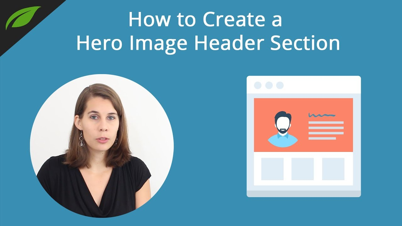 How to Create a Hero Image Header Section on Your Homepage